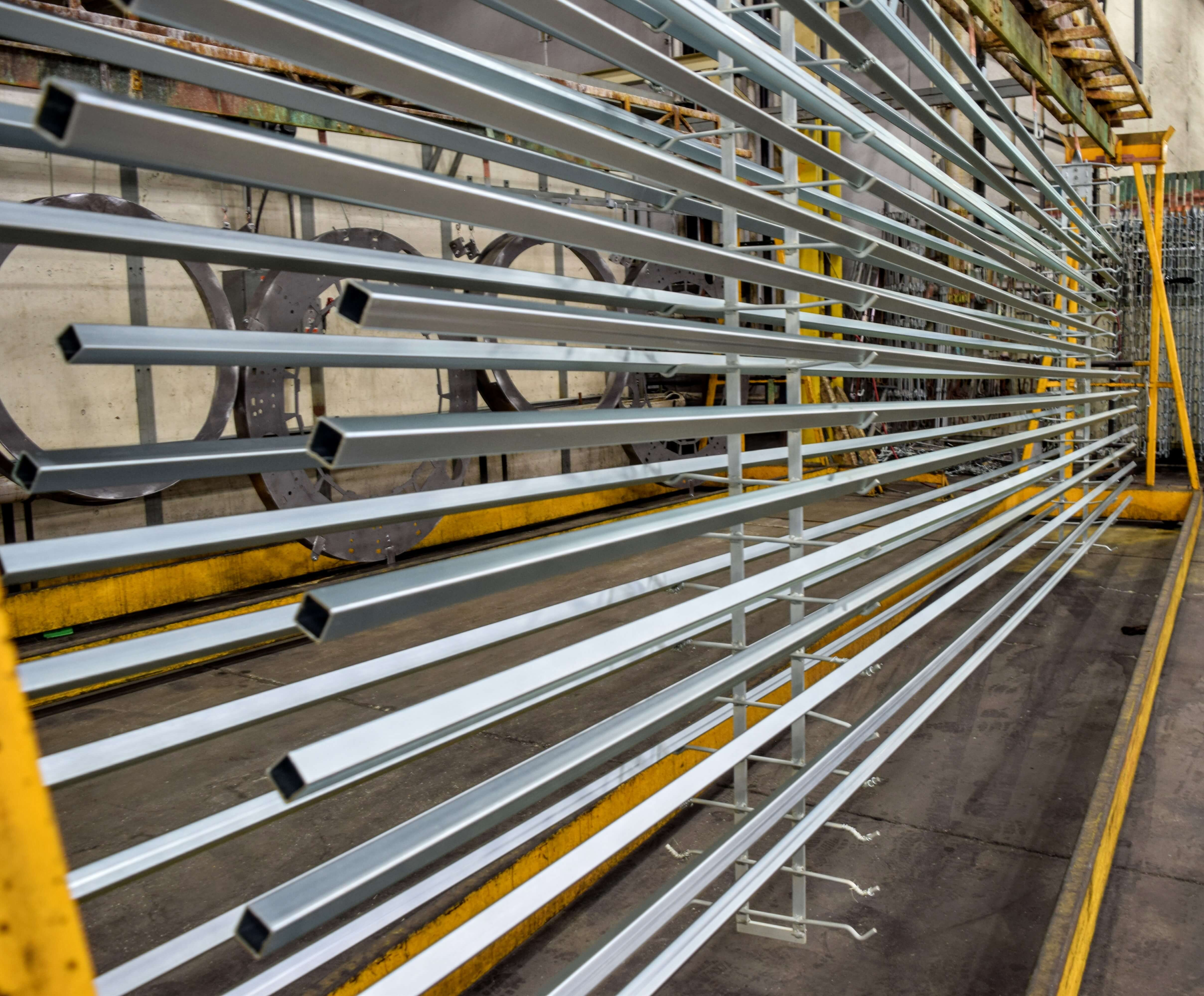 Large Components, Frames & Parts Zinc Plating | Gatto