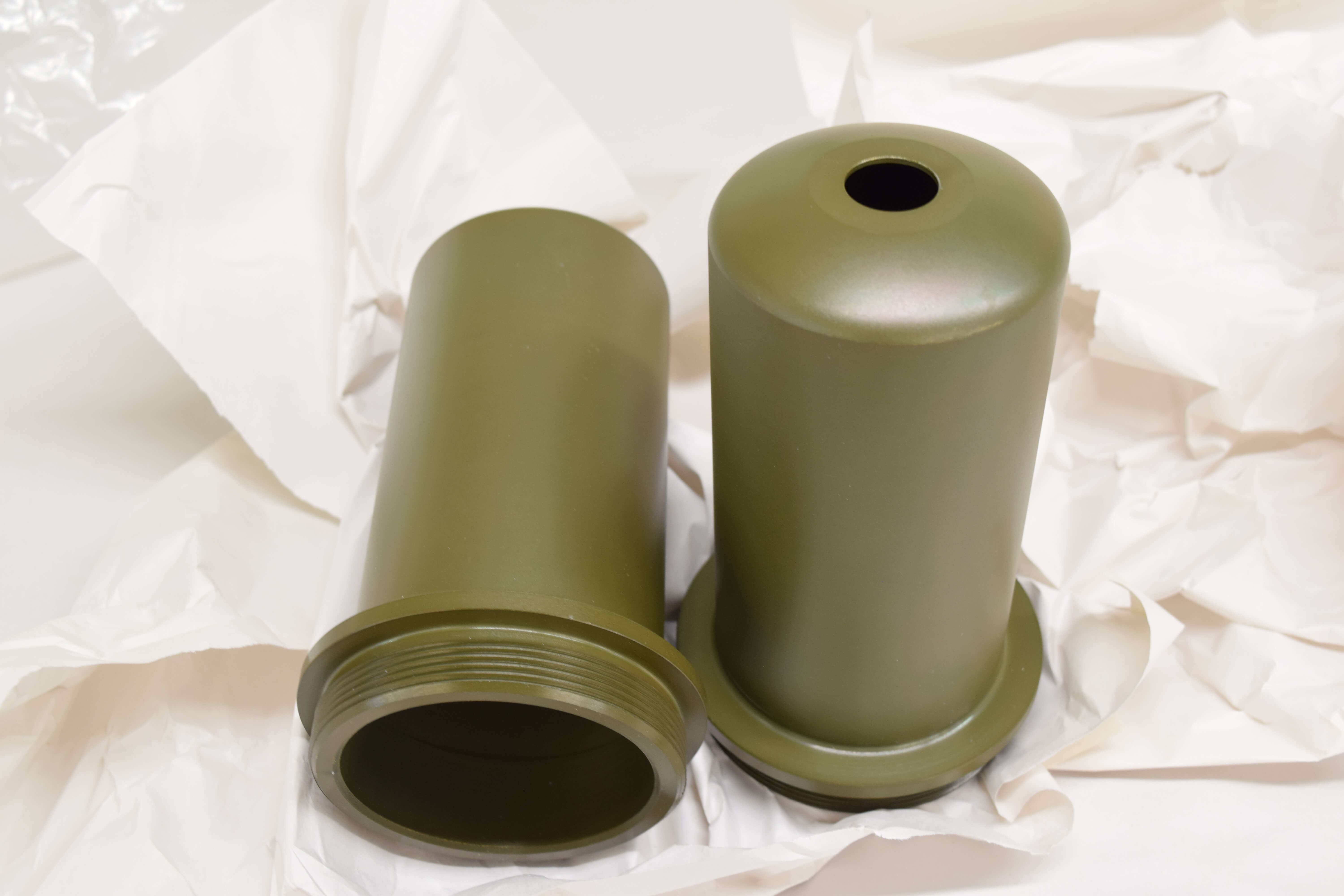 Olive Drab Zinc Plating - Olive Drab Green Chromate - Military